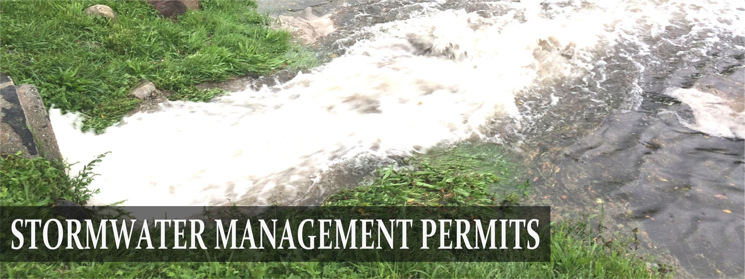 STORMWATER PERMITS
