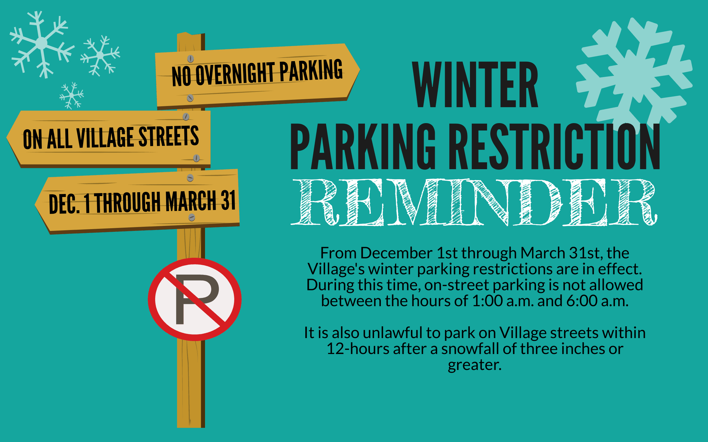 Winter Parking Restriction 10.18.19