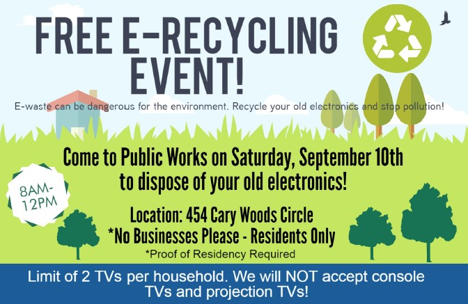 e-recycle flyer
